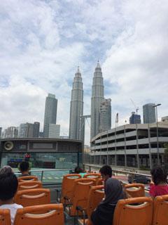 今度はマレーシアに行きます