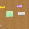 付箋(ポストイット)メモをコルクボードに貼るイメージのタスク(ToDo)管理アプリを見つけた
